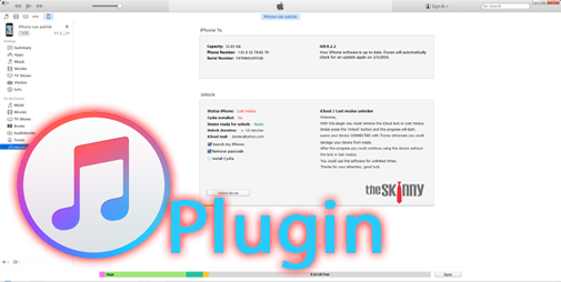 Permanently remove iCloud lock or Lost modus - Skinnytools plugins